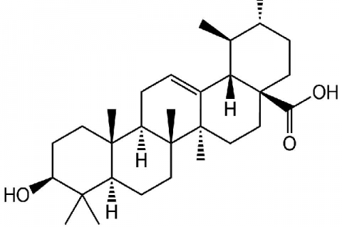 Chemical components in Punica granatum L., which involve in anti-hyperglycemia, Ursolic acid