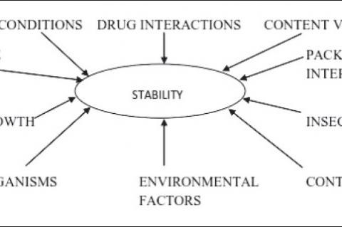 Factors affecting stability of natural medicines